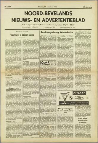 Noord-Bevelands Nieuws- en advertentieblad 1956-11-24