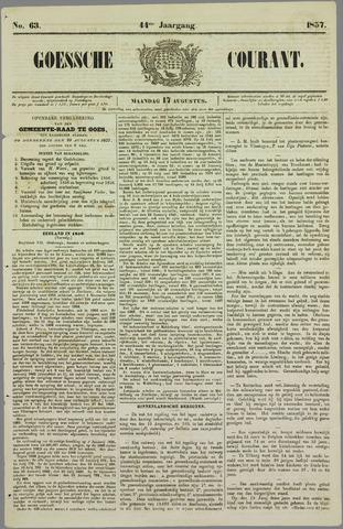 Goessche Courant 1857-08-17