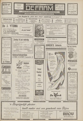 de Faam en de Faam/de Vlissinger 1961-06-16