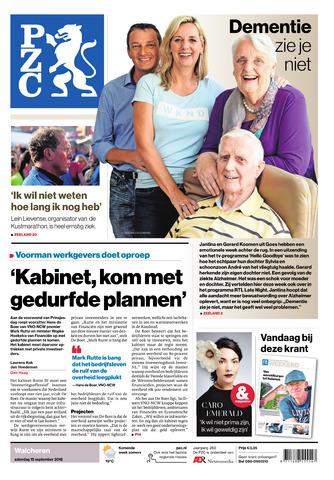 Provinciale Zeeuwse Courant 2018-09-15