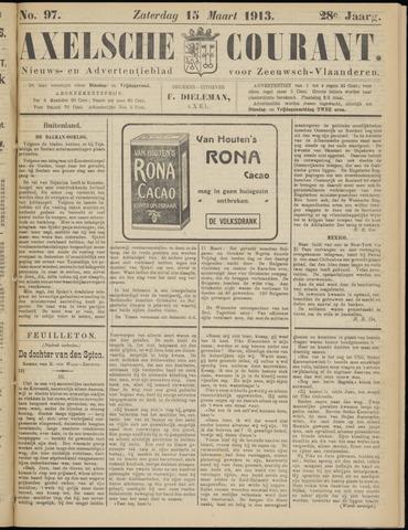 Axelsche Courant 1913-03-15