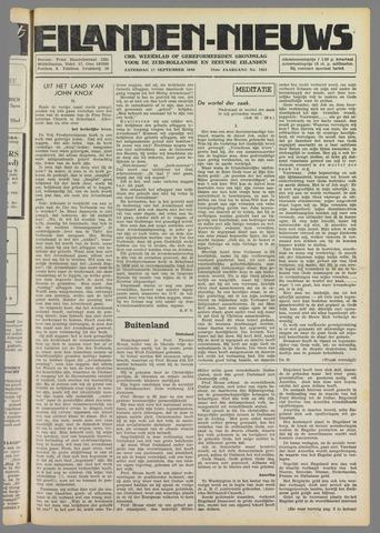 Eilanden-nieuws. Christelijk streekblad op gereformeerde grondslag 1949-09-17