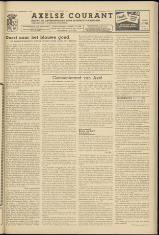 Axelsche Courant 1958-06-28