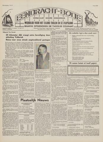 Eendrachtbode (1945-heden)/Mededeelingenblad voor het eiland Tholen (1944/45) 1969-06-12