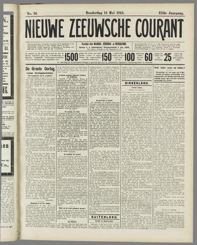Nieuwe Zeeuwsche Courant 1915-05-13