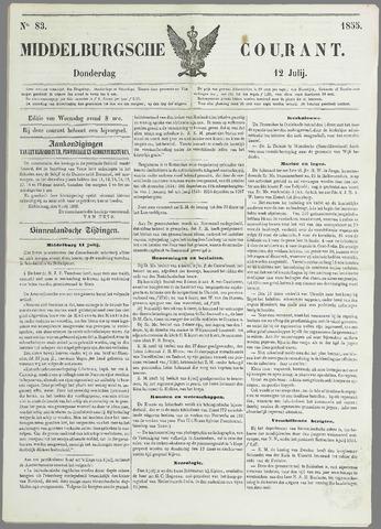 Middelburgsche Courant 1855-07-12