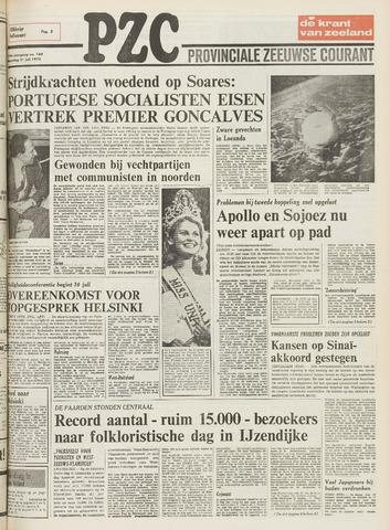 Provinciale Zeeuwse Courant 1975-07-21