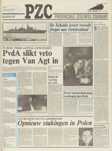 Provinciale Zeeuwse Courant 1981-07-08
