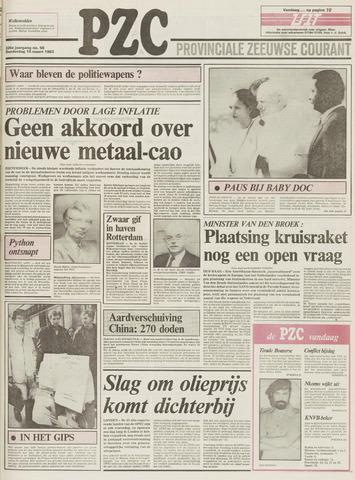 Provinciale Zeeuwse Courant 1983-03-10