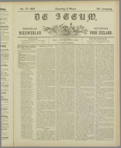 De Zeeuw. Christelijk-historisch nieuwsblad voor Zeeland 1901-03-02