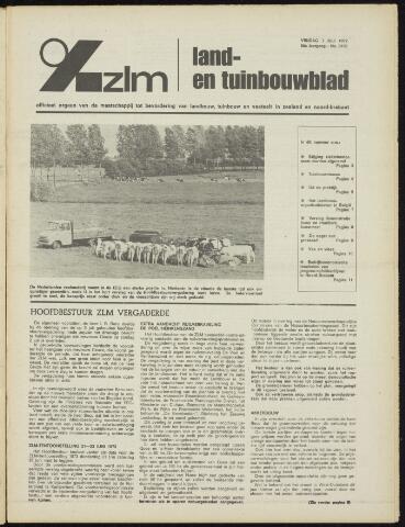 Zeeuwsch landbouwblad ... ZLM land- en tuinbouwblad 1972-07-07