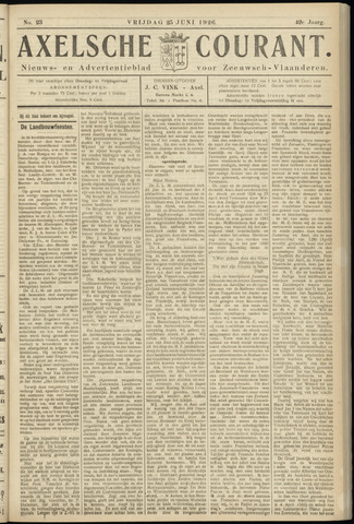 Axelsche Courant 1926-06-25
