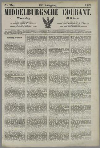 Middelburgsche Courant 1888-10-31