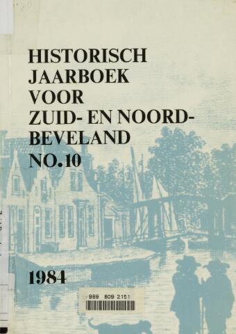 Historisch Jaarboek Zuid- en Noord-Beveland 1984-01-01