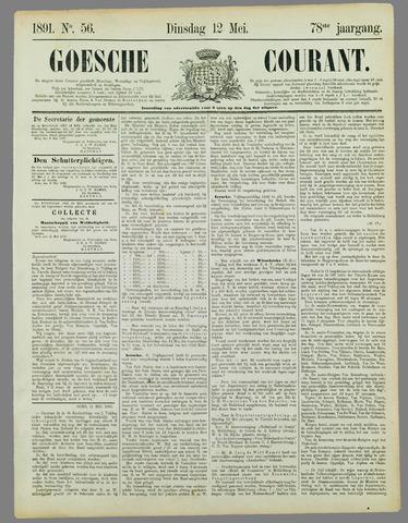 Goessche Courant 1891-05-12