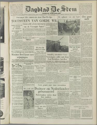de Stem 1952-03-22