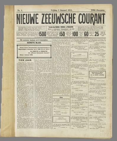Nieuwe Zeeuwsche Courant 1915
