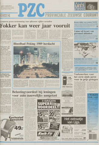 Provinciale Zeeuwse Courant 1996-06-05