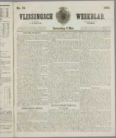 Vlissings Weekblad 1863-05-02