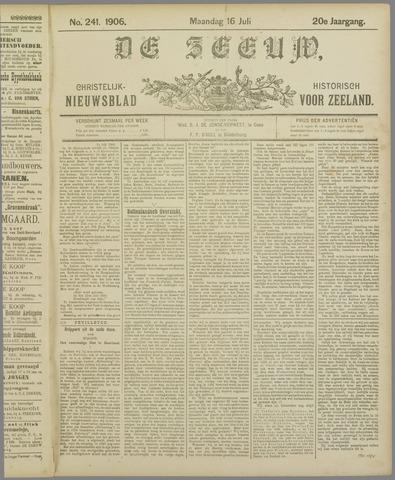 De Zeeuw. Christelijk-historisch nieuwsblad voor Zeeland 1906-07-16