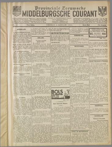 Middelburgsche Courant 1931