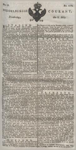 Middelburgsche Courant 1777-05-08
