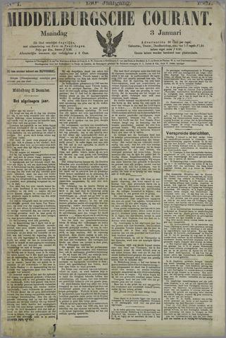 Middelburgsche Courant 1887