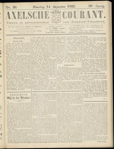 Axelsche Courant 1923-08-14