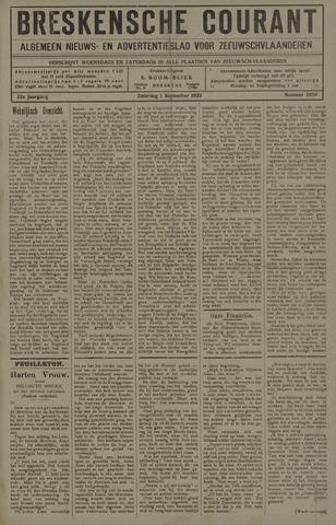 Breskensche Courant 1923-09-01