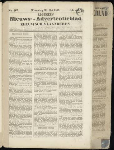 Ter Neuzensche Courant. Algemeen Nieuws- en Advertentieblad voor Zeeuwsch-Vlaanderen / Neuzensche Courant ... (idem) / (Algemeen) nieuws en advertentieblad voor Zeeuwsch-Vlaanderen 1866-05-30