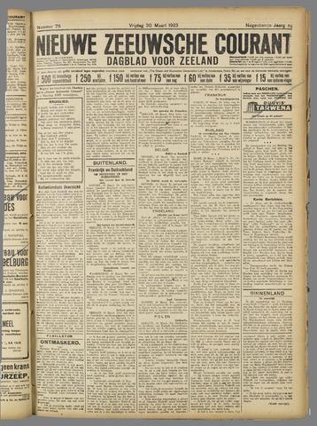 Nieuwe Zeeuwsche Courant 1923-03-30