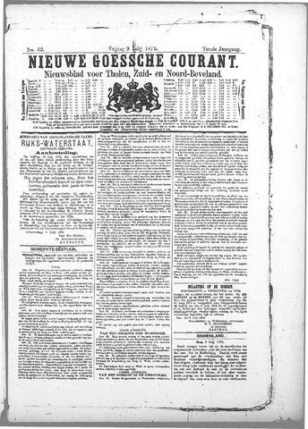 Nieuwe Goessche Courant 1875-07-09