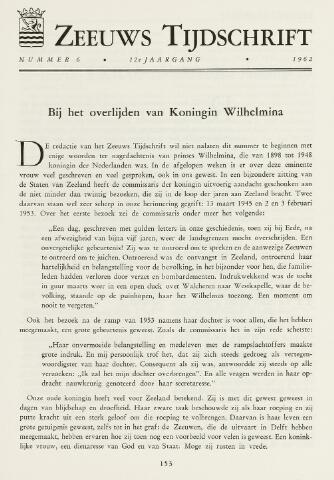Zeeuws Tijdschrift 1962-11-01