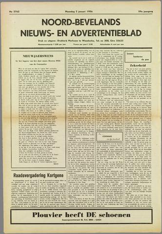 Noord-Bevelands Nieuws- en advertentieblad 1956