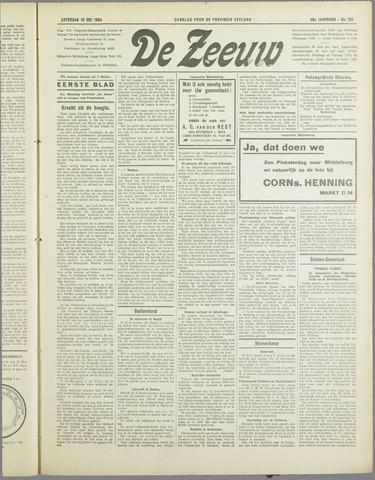 De Zeeuw. Christelijk-historisch nieuwsblad voor Zeeland 1934-05-19