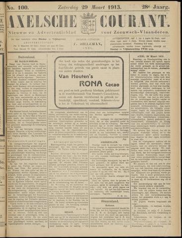 Axelsche Courant 1913-03-29