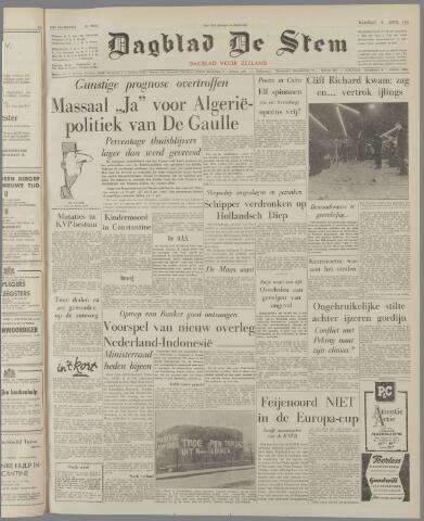 de Stem 1962-04-09