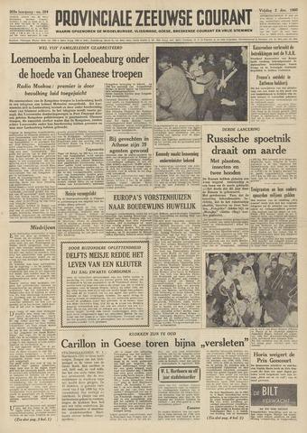 Provinciale Zeeuwse Courant 1960-12-02