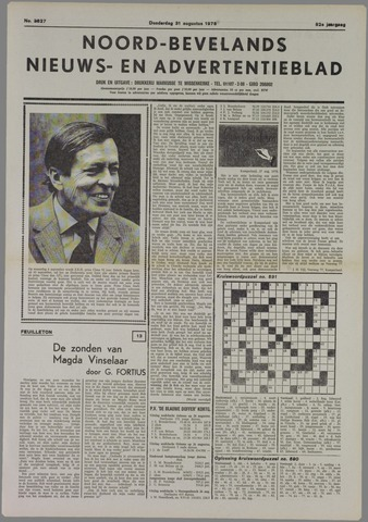 Noord-Bevelands Nieuws- en advertentieblad 1978-08-31