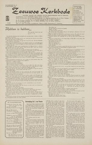 Zeeuwsche kerkbode, weekblad gewijd aan de belangen der gereformeerde kerken/ Zeeuwsch kerkblad 1968-09-26