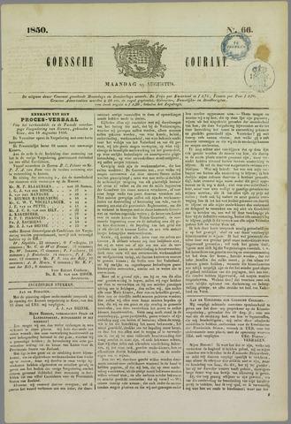 Goessche Courant 1850-08-19