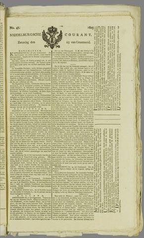Middelburgsche Courant 1809-04-15