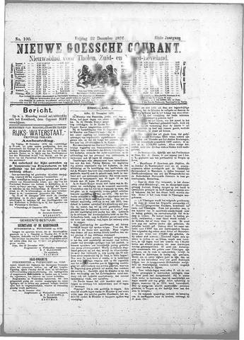 Nieuwe Goessche Courant 1876-12-22