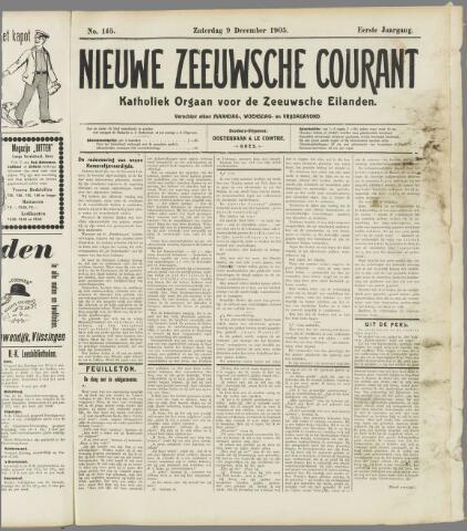 Nieuwe Zeeuwsche Courant 1905-12-09