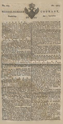 Middelburgsche Courant 1775-09-07