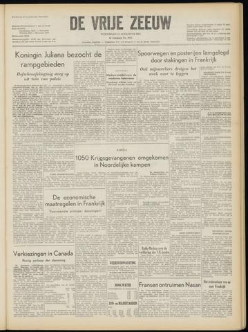 de Vrije Zeeuw 1953-08-12