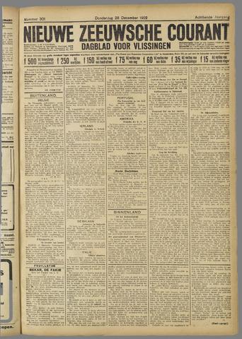 Nieuwe Zeeuwsche Courant 1922-12-28