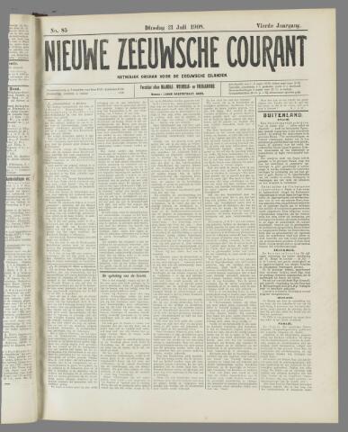 Nieuwe Zeeuwsche Courant 1908-07-21