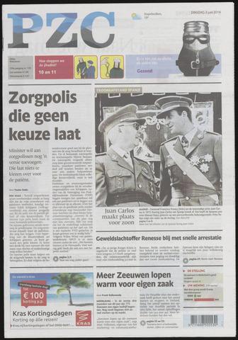 Provinciale Zeeuwse Courant 2014-06-03