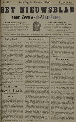 Nieuwsblad voor Zeeuwsch-Vlaanderen 1900-02-24
